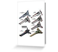 Battlestar Galactica Greeting Card