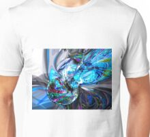 Ice Majesty Abstract Unisex T-Shirt