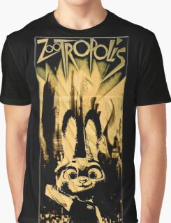 Zootropolis the Metropolis Graphic T-Shirt