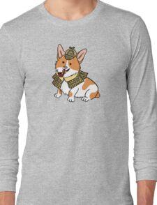 Sherlock Corgi  Long Sleeve T-Shirt