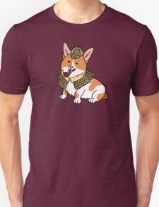 Sherlock Corgi  T-Shirt