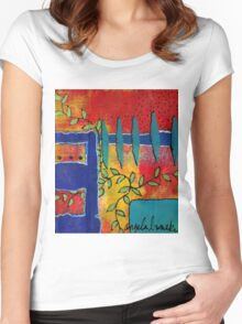 Winding Vines IV Women's Fitted Scoop T-Shirt