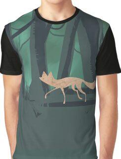 Slinky Fox Graphic T-Shirt