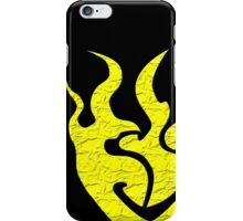 Yellow Symbol Phone Case iPhone Case/Skin