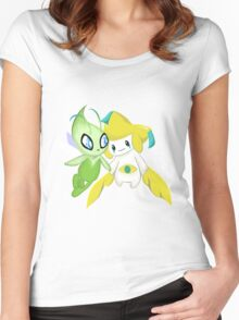 Mythical Friends  Women's Fitted Scoop T-Shirt