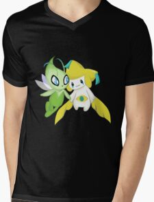 Mythical Friends  Mens V-Neck T-Shirt