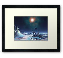 Cold Planet Framed Print