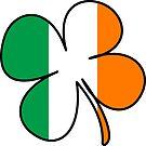 Four Leaf Clover/Shamrock  Ireland Flag  by ImageMonkey