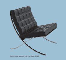 Barcelona chair One Piece - Short Sleeve