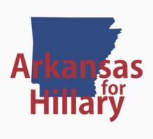 Arkansas for Hillary Baby Tee