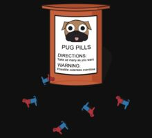 Pugs but drugs Kids Tee