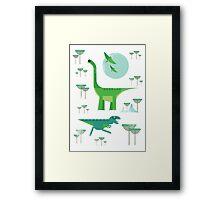 Dinos Framed Print