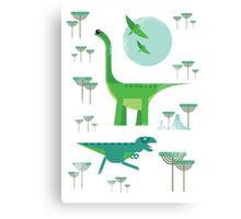 Dinos Canvas Print