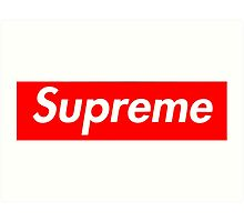 Supreme  Photographic Print