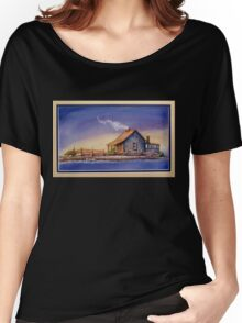 """""""IN FOR THE NIGHT"""" Women's Relaxed Fit T-Shirt"""