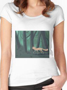 Slinky Fox Women's Fitted Scoop T-Shirt