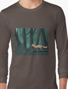 Slinky Fox Long Sleeve T-Shirt