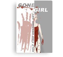 Gone Girl Metal Print