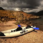 Canoe and Rocks, Wastwater by Billlee