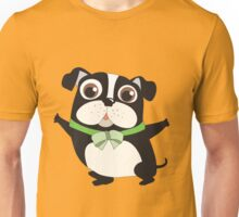 Cute Cartoon Pets Dogs Boston Terrier Unisex T-Shirt