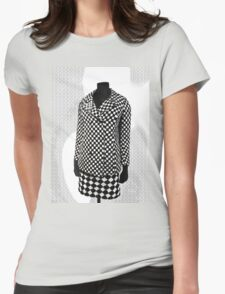 A Chequered Past  Womens Fitted T-Shirt
