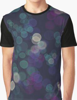 Bokeh lights pattern Graphic T-Shirt
