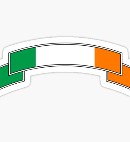 Ireland Flag Banner Stickers Sticker