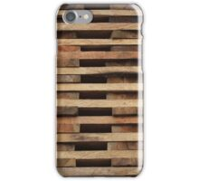 Stacked Wood iPhone Case/Skin