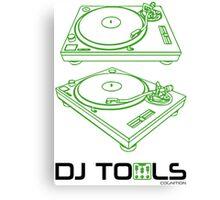 DJ TOOLS Canvas Print