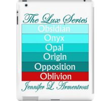 The Lux Series Spines iPad Case/Skin
