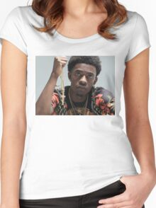 Rich Homie Quan Women's Fitted Scoop T-Shirt
