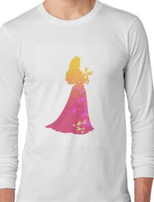 Princess Inspired Silhouette Long Sleeve T-Shirt