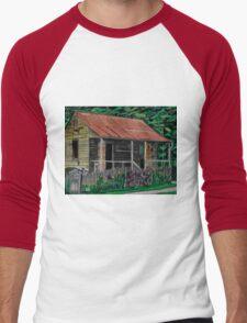 Little Cabins Men's Baseball ¾ T-Shirt