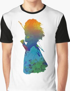 Princess Inspired Silhouette Graphic T-Shirt