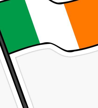 Flag Of Ireland Stickers Sticker