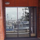 Reflections Harbour side by Tom McDonnell