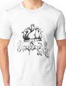 Om Mani Padme Hum original meditation ink drawing Unisex T-Shirt