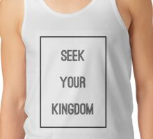 SEEK YOUR KINGDOM - Kings Kaleidoscope - Christian Tank Top