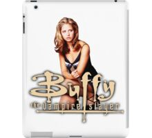 Buffy, The vampire slayer iPad Case/Skin
