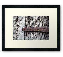 Old Door 3 Framed Print