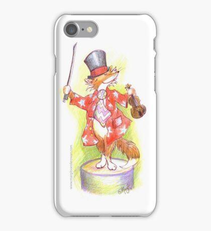 Fantastic Mr Foxy on the violin iPhone Case/Skin