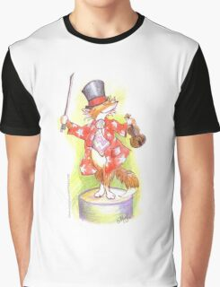 Fantastic Mr Foxy on the violin Graphic T-Shirt