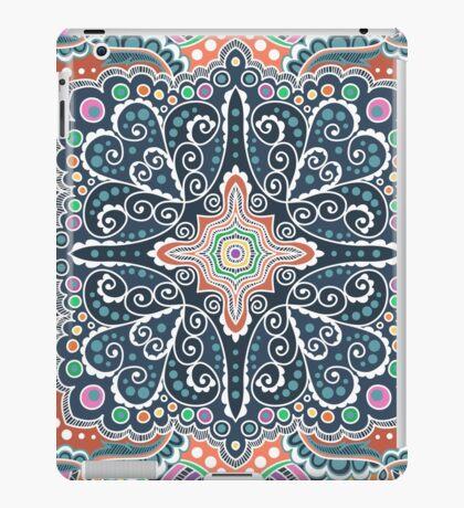 Pattern of spirals, swirls, chains iPad Case/Skin