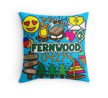 Fernwood Throw Pillow