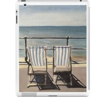 Deck Chairs iPad Case/Skin
