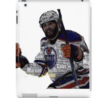 """Edmonton Oilers """"My Favorite Color is (Patrick) Maroon"""" iPad Case/Skin"""