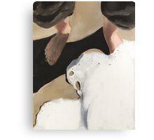 Beach Feet Canvas Print