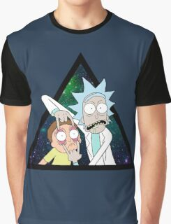 Rick and morty space V4. Graphic T-Shirt