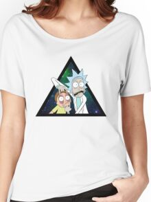 Rick and morty space V4. Women's Relaxed Fit T-Shirt
