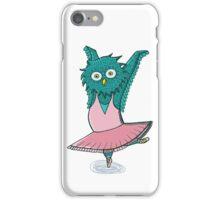 Owl ballet iPhone Case/Skin
